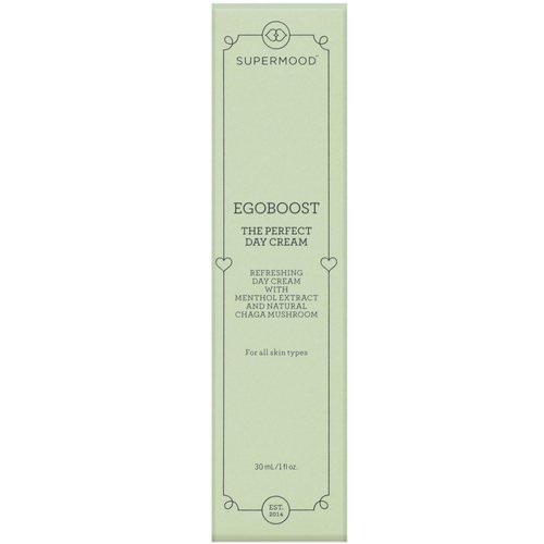 Supermood, Egoboost, The Perfect Day Cream, 1 fl oz (30 ml) Review