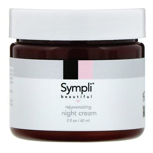 Sympli Beautiful, Rejuvenating Night Cream, 2 fl. oz (60 ml) Review