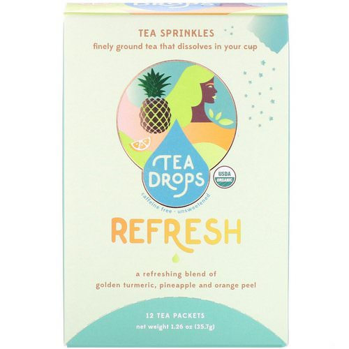 Tea Drops, Sweet Peppermint, Caffeine Free, 1.8 oz Review