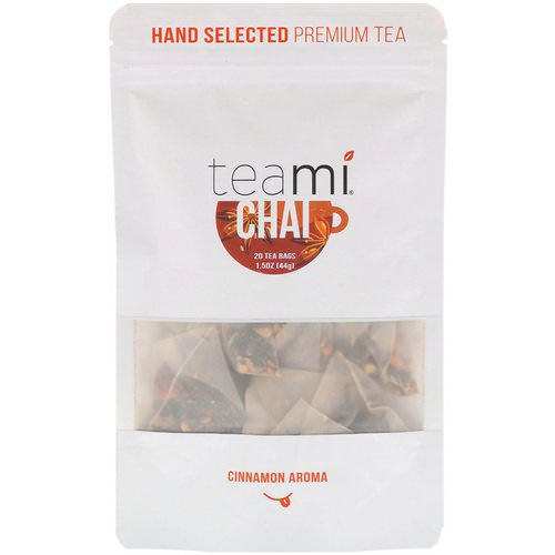 Teami, Chai Tea Blend, 20 Tea Bags, 1.5 oz (44 g) Review