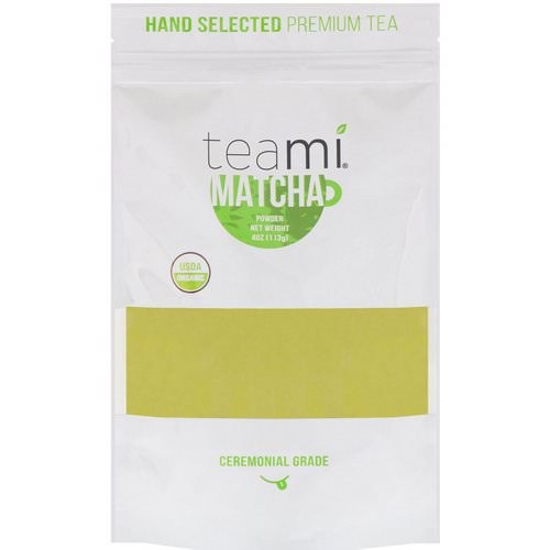 Teami, Organic, Matcha Powder, 4 oz (113 g) Review