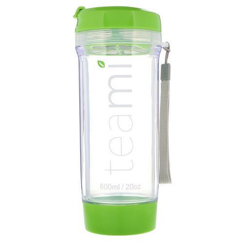 Teami, Tumbler On-the-Go, Green, 20 oz Review