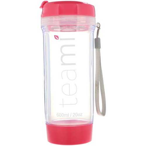 Teami, Tumbler On-the-Go, Pink, 20 oz Review