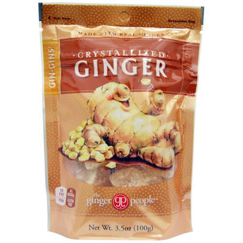 The Ginger People, Gin·Gins, Crystallized Ginger, 3.5 oz (100 g) Review