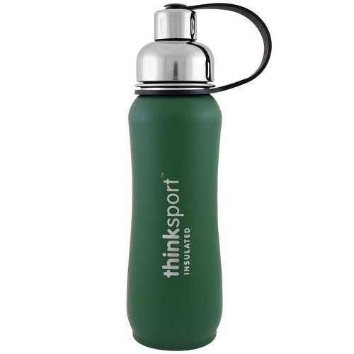 Think, Thinksport, Insulated Sports Bottle, Green, 17 oz (500ml) Review