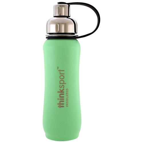 Think, Thinksport, Insulated Sports Bottle, Mint Green, 17 oz (500 ml) Review