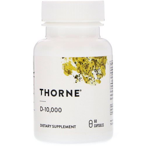 Thorne Research, D-10,000, 60 Capsules Review