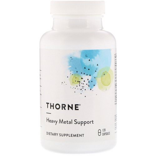 Thorne Research, Heavy Metal Support, 120 Capsules Review
