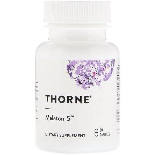 Thorne Research, Melaton-5, 60 Capsules Review