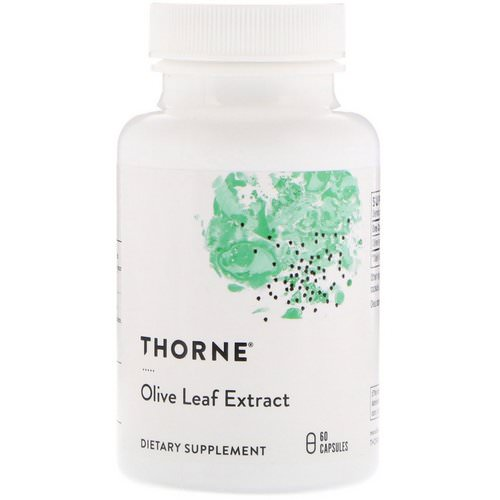 Thorne Research, Olive Leaf Extract, 60 Capsules Review
