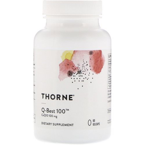 Thorne Research, Q-Best 100, 60 Gelcaps Review