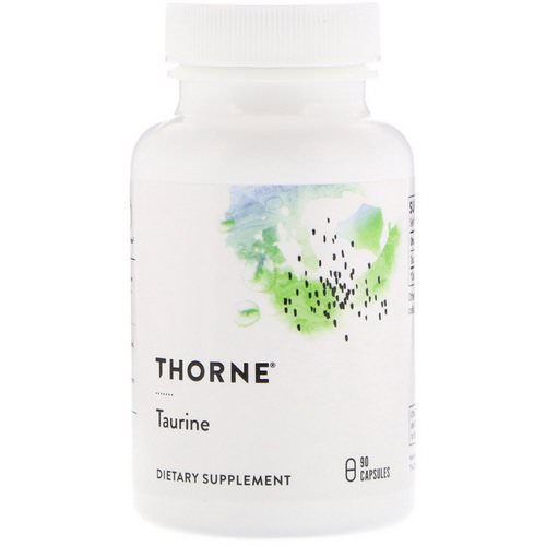 Thorne Research, Taurine, 90 Capsules Review