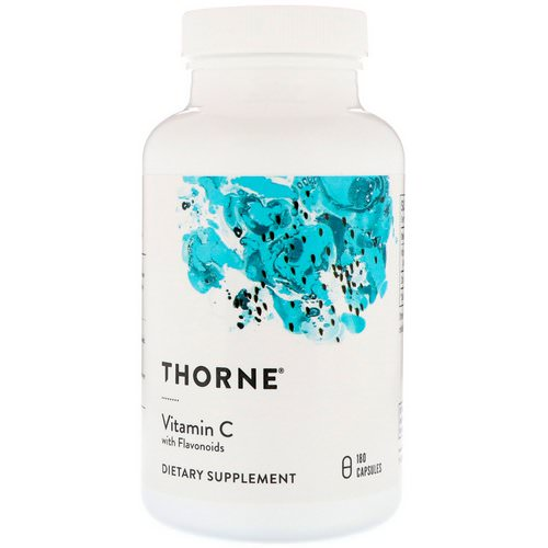 Thorne Research, Vitamin C With Flavonoids, 180 Capsules Review