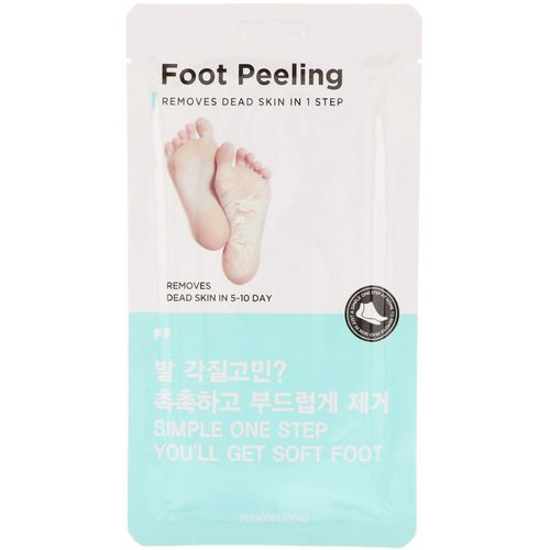 Tosowoong, Foot Peeling, Size Regular, 2 Pieces, 20 g Each Review