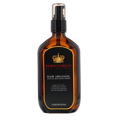 Tosowoong, Morocco Argan Hair Oil Treatment, 100 ml Review