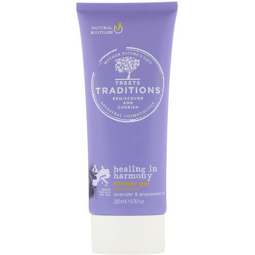 Treets, Healing in Harmony, Shower Gel, Soft Lavender, 6.76 fl oz (200 ml) Review