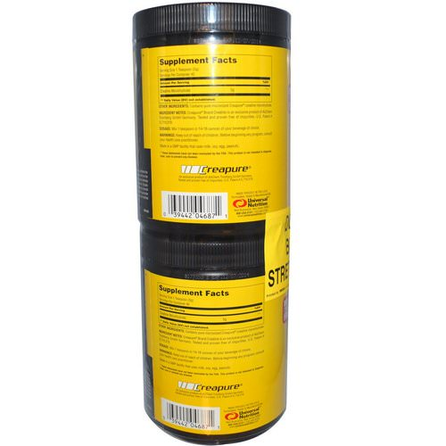 Universal Nutrition, Creatine, 2 Bottles, 200 g Each Review