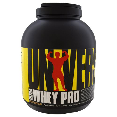 Universal Nutrition, Ultra Whey Pro, Protein Powder, Cookies & Cream, 5 lb (2.27 kg) Review
