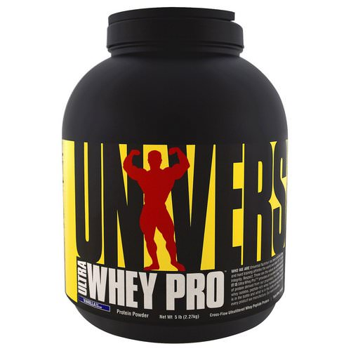 Universal Nutrition, Ultra Whey Pro, Protein Powder, Vanilla Ice Cream, 5 lbs (2.27 kg) Review