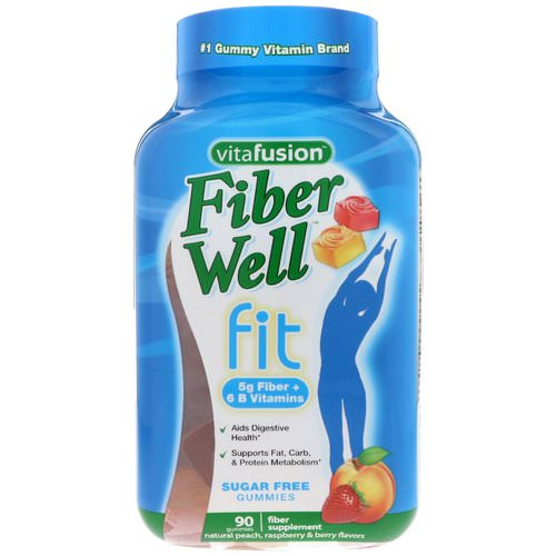 VitaFusion, FiberWell Fit Vitamin, 90 Gummies Review