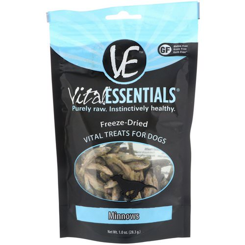 Vital Essentials, Freeze-Dried Treats For Dogs, Minnows, 1.0 oz (28.3 g) Review