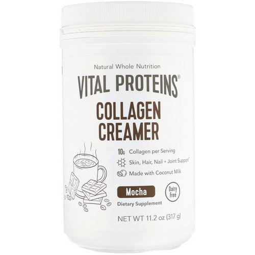 Vital Proteins, Collagen Creamer, Mocha, 11.2 oz (317 g) Review
