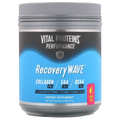 Vital Proteins, Performance, RecoveryWave, Guava Lime, 26.8 oz (761 g) Review