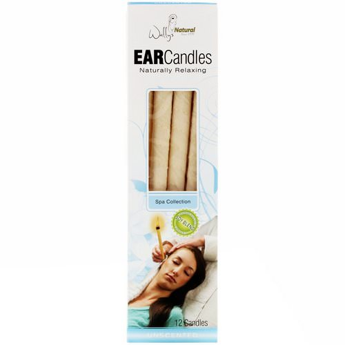 Wally's Natural, Ear Candles, Unscented, 12 Candles Review