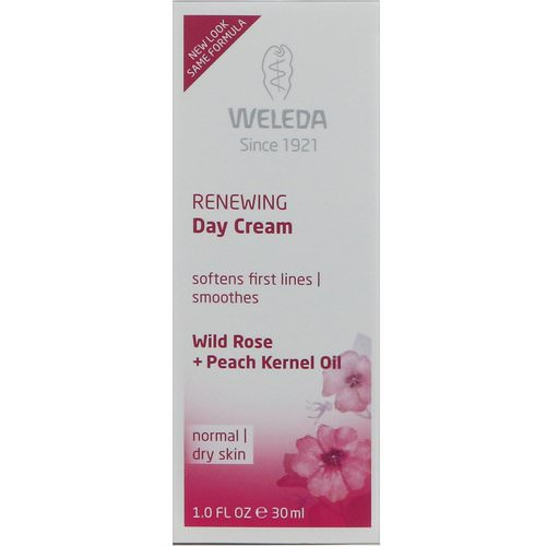 Weleda, Renewing Day Cream, Wild Rose Extracts, Normal to Dry Skin, 1.0 fl oz (30 ml) Review