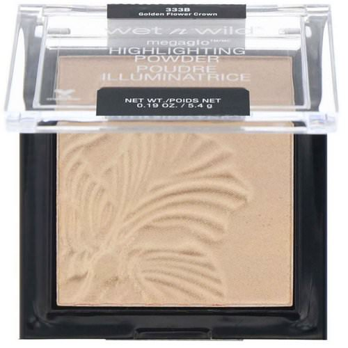 Wet n Wild, MegaGlo Highlighting Powder, Golden Flower Crown, 0.19 oz (5.4 g) Review