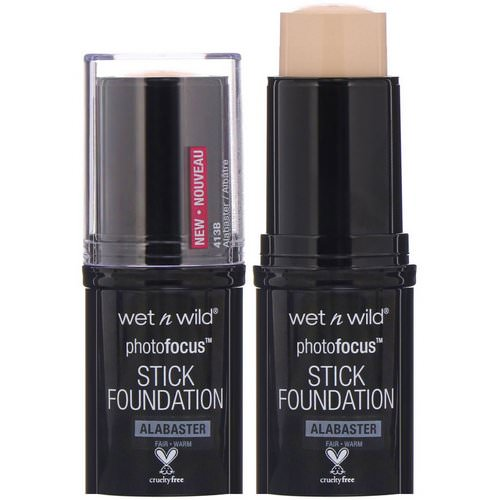 Wet n Wild, PhotoFocus Stick Foundation, Alabaster, 0.42 oz (12 g) Review