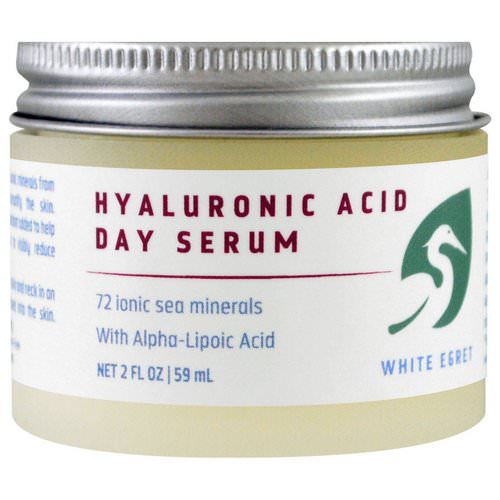 White Egret Personal Care, Hyaluronic Acid, Day Serum, 2 fl oz (59 ml) Review