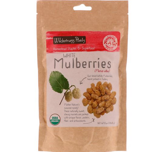 Wilderness Poets, White Mulberries, 8 oz (226.8 g) Review