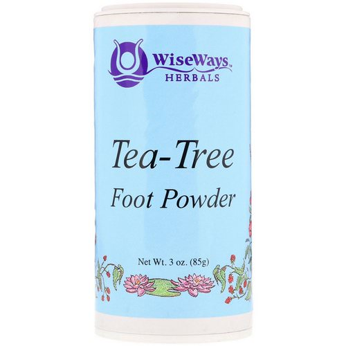 WiseWays Herbals, Tea-Tree Foot Powder, 3 oz (85 g) Review