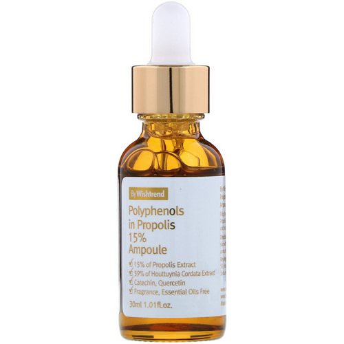 Wishtrend, Polyphenols in Propolis 15% Ampoule, 1.01 fl oz (30 ml) Review