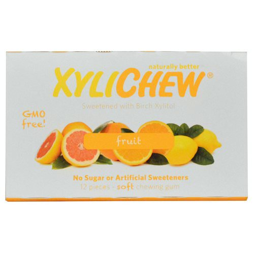 Xylichew, Fruit, 12 Pieces Review