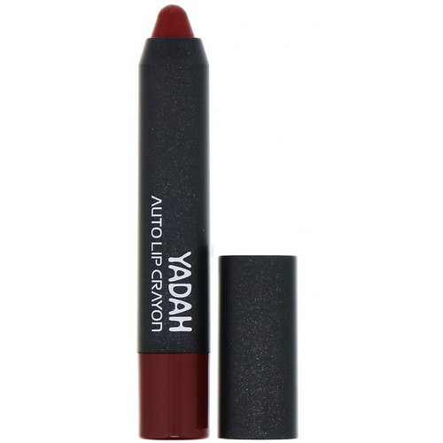 Yadah, Auto Lip Crayon, 06 Plum Burgundy, 0.08 oz (2.5 g) Review