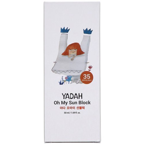 Yadah, Oh My Sun Block 35, 1.69 fl oz (50 ml) Review