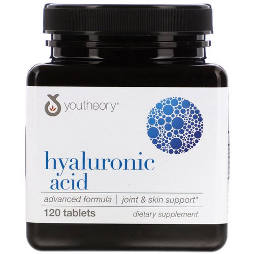 Youtheory, Hyaluronic Acid Advanced Formula, 120 Tablets Review
