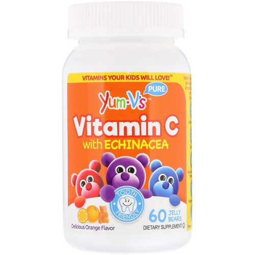 YumV's, Vitamin C with Echinacea, Orange Flavor, 60 Jelly Bears Review