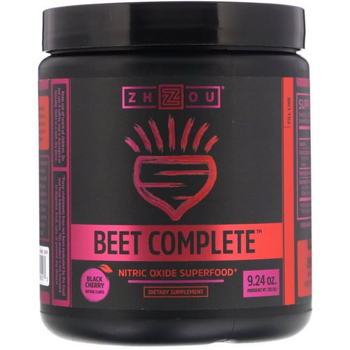 Zhou Nutrition, Beet Complete, Black Cherry, 9.24 oz (262.26 g) Review