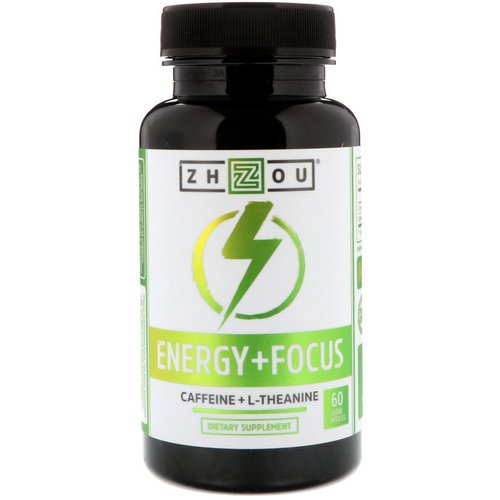 Zhou Nutrition, Energy + Focus, 60 Veggie Capsules Review