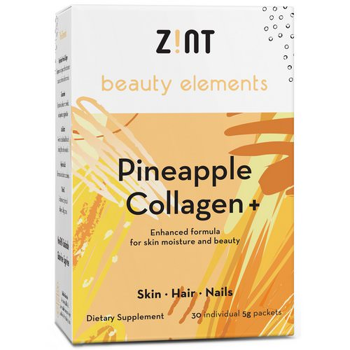 Zint, Pineapple Collagen +, 30 Individual Packets, 5 g Each Review