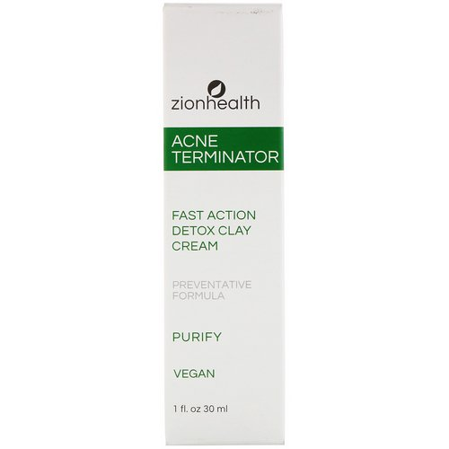 Zion Health, Acne Terminator, 1 fl oz (30 ml) Review