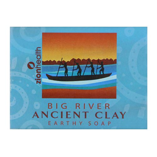 Zion Health, Ancient Clay Earthy Soap, Big River, 10.5 oz (300 g) Review
