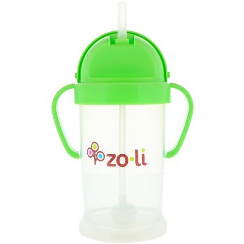 Zoli, Bot XL, Straw Sippy Cup, Green, 9 oz Review
