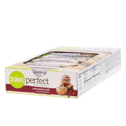 ZonePerfect, Nutrition Bars, Cinnamon Roll, 12 Bars, 1.76 oz (50 g) Each Review