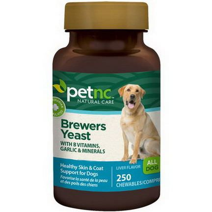 21st Century Health Care, Pet Natural Care, Brewers Yeast, Liver Flavor, 250 Chewables