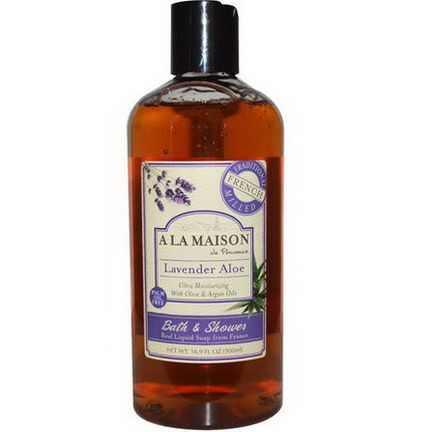 A La Maison de Provence, Bath&Shower Liquid Soap, Lavender Aloe 500ml