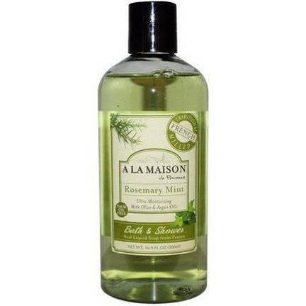 A La Maison de Provence, Bath&Shower Liquid Soap, Rosemary Mint 500ml